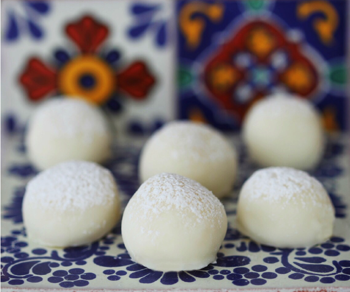 Truffles made with Argan Oil