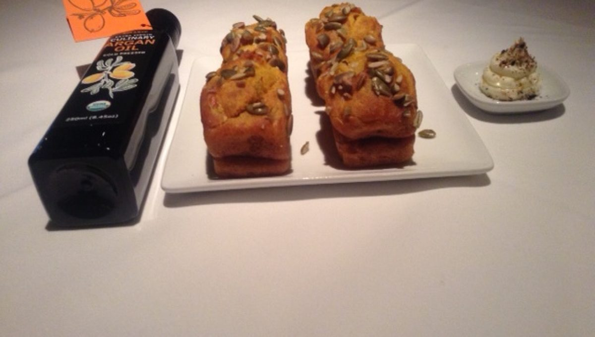 Gluten Free Zucchini Muffins: Miro Uskokovic, Pastry Chef