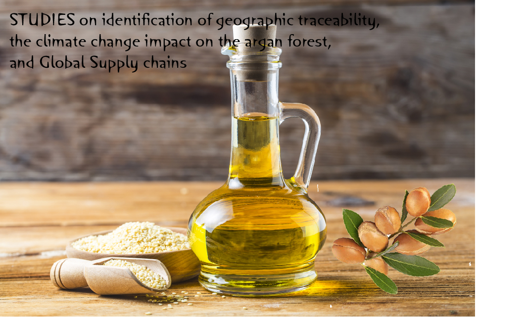 STUDIES on identification of geographic traceability, the climate change impact on the argan forest, and Global Supply chains