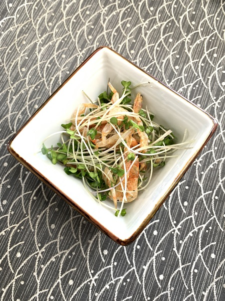 recipe by Dr. Itoh 1 dry shrimp