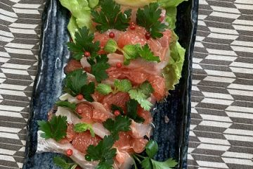 recipe by Dr. Itoh 2 carpaccio
